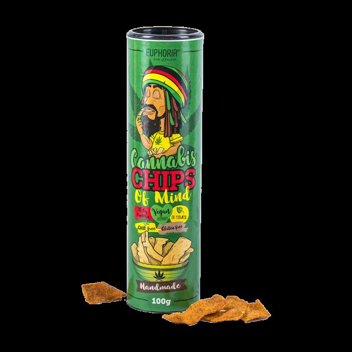Euphoria Cannabis Chips 100gr