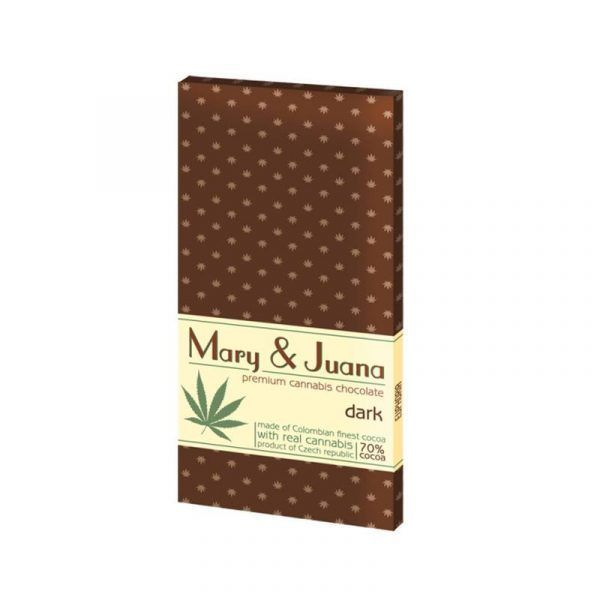 Mary & Juana Dark Chocolate – 80gr